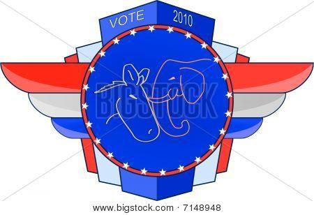 2010 Election Emblem