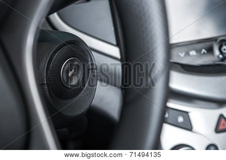 Car Ignition Keyhole
