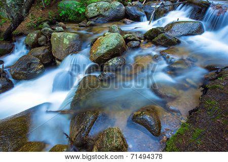 Mountain Rocky Stream