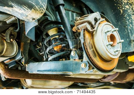 Car Suspension And Brakes