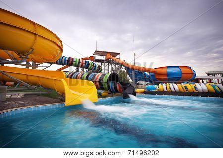 Aquapark Sliders, Aqua Park, Water Park.