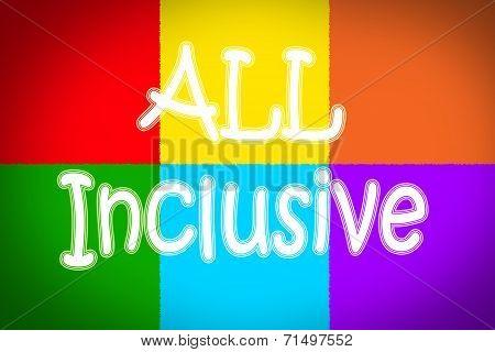 All Inclusive Concept