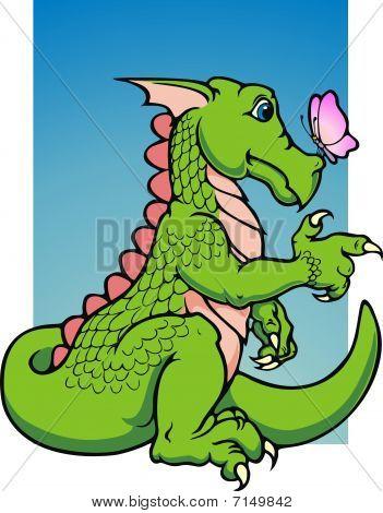 Vincent, the friendly dragon