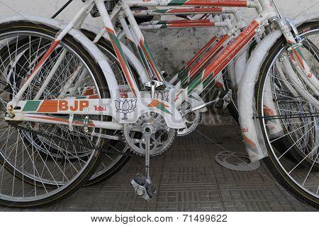 BJP branding.