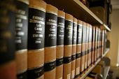 picture of lawyer  - Law books - JPG