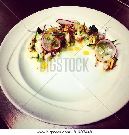 White ceviche