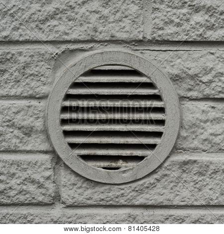 Concrete ventilation element drain lattice