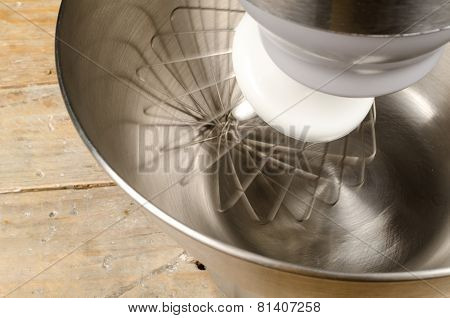 Rotating Whisk Tool
