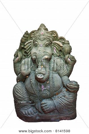The Hindu Elephant God Ganesh