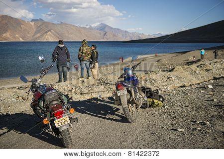 Pangong Lake Ladakh ,India