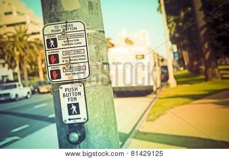 Pedestrian Button