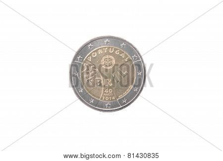 Commemorative Coin Of Portugal
