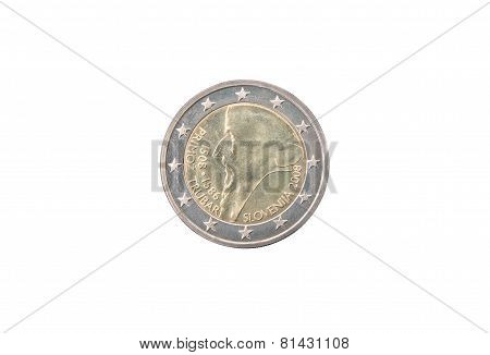 Commemorative Coin Of Slovenia