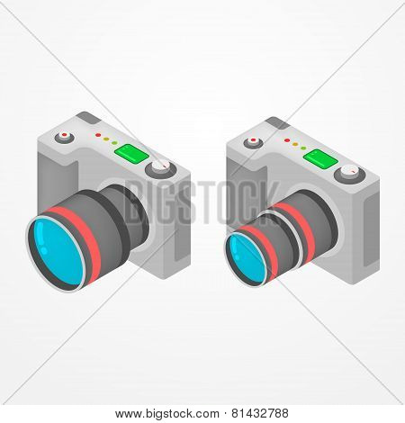 Isometric photo camera
