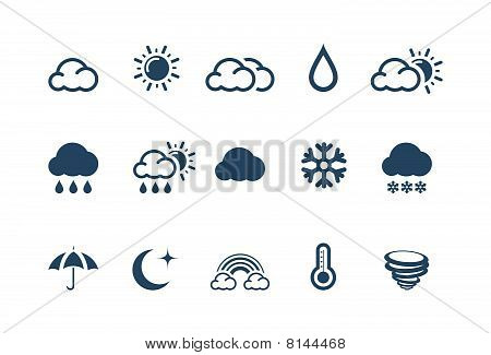 Weather Icons - Piccolo series
