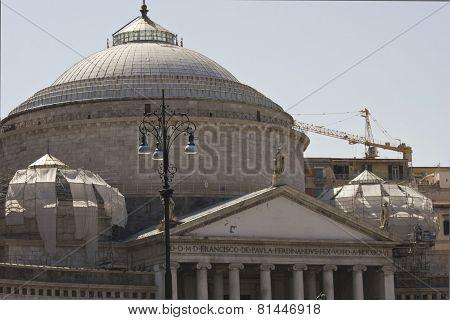 San Francesco Di Paola Church In Naples