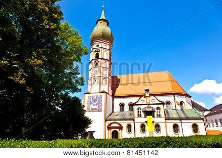 Famous Cloister Of Andechs