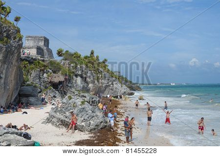Beach In Tulum