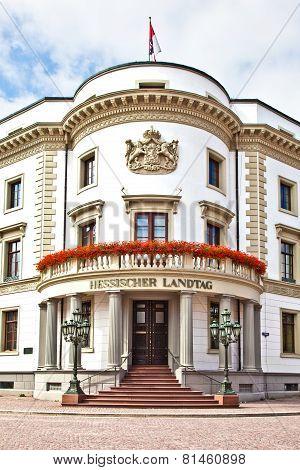 Hessischer Landtag In Wiesbaden