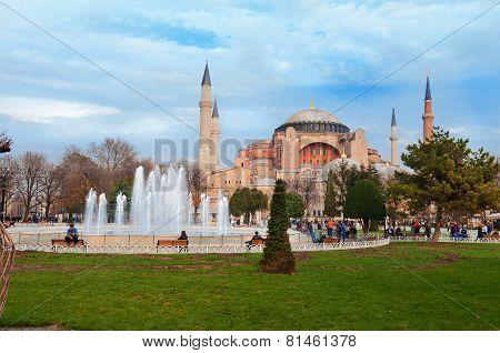 Aghia Sophia in Istanbul.