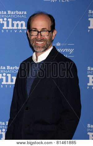 SANTA BARBARA - JAN 29:  Brian Huskey at the Santa Barbara International Film Festival - Cinema Vanguard Award at a Arlington Theater on January 29, 2015 in Santa Barbara, CA