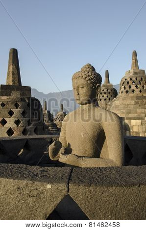 Borobudur Temple, Java,