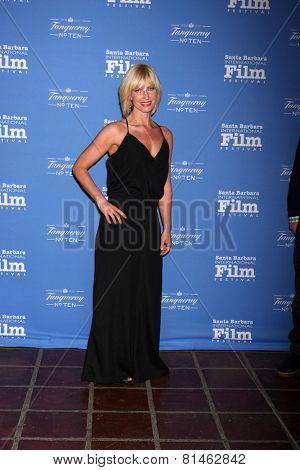 SANTA BARBARA - JAN 29:  Morgan Walsh at the Santa Barbara International Film Festival - Cinema Vanguard Award at a Arlington Theater on January 29, 2015 in Santa Barbara, CA
