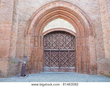 San Domenico Church In Chieri