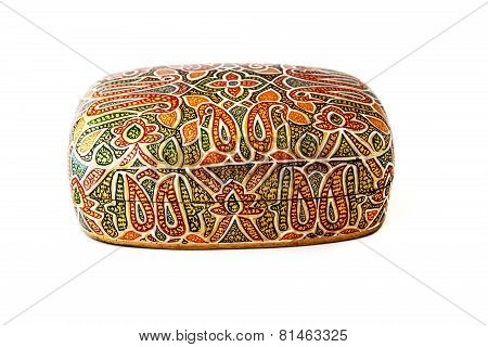 Traditional indian lacquered box for jewel
