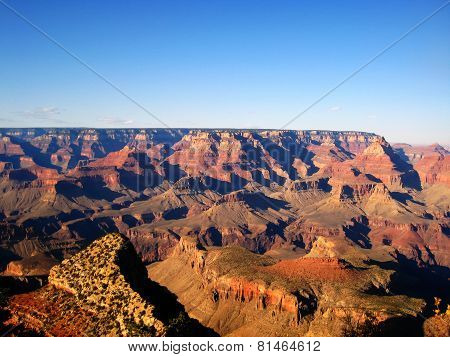 Grand Canyon Colours at sunset