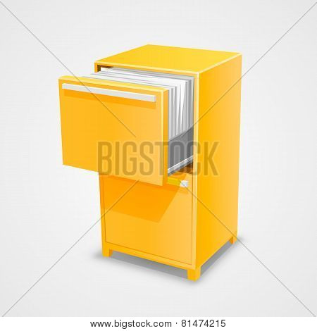 Closet safe with documents