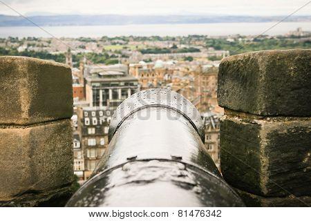 Cannon On Edinburgh