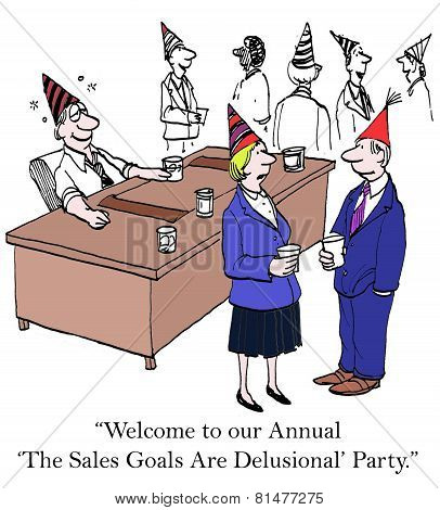 The Annual Sales Goals