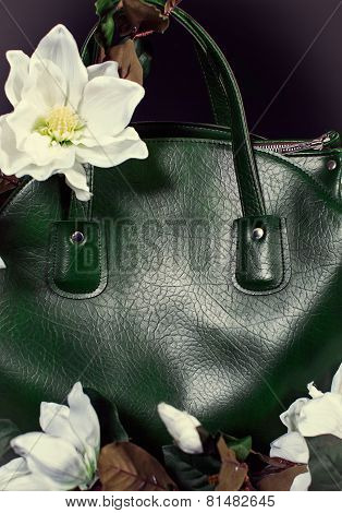 Lady's Bag In Flowers