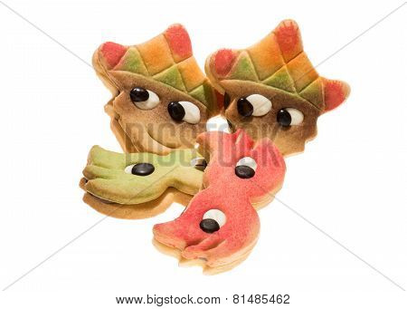 Carnival Mask Biscuits