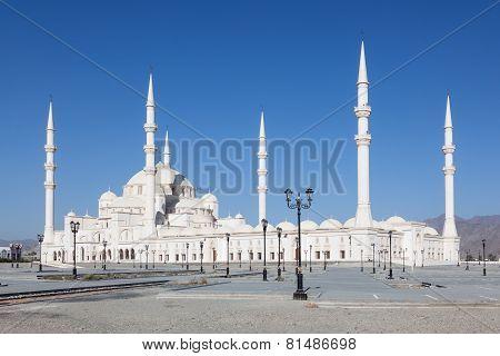 Grand Mosque In Fujairah, UAE