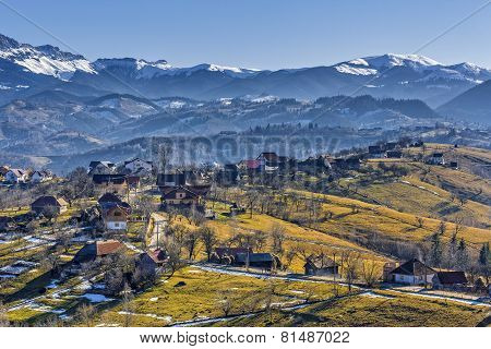 Countryside Mountain Landscape