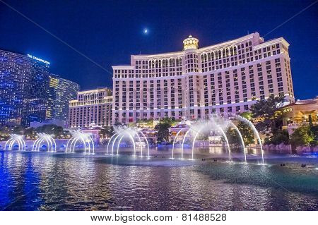 Las Vegas , Bellagio Fountains
