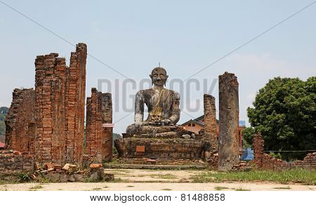 Ruined Temple -  Laos