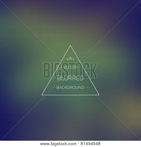 Abstract Gradient Mesh Blurred Vector Background