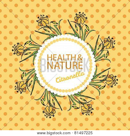 Health and Nature Collection. Citronella
