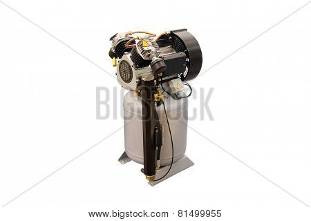 compressor under the white background