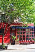 picture of west village  - West Village in New York Manhattan building facades USA NYC - JPG