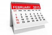picture of february  - 2015 year calendar - JPG
