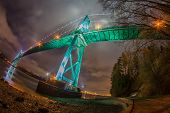 pic of gate  - This is the Lions Gate bridge in Stanley Park - JPG