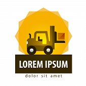 pic of lift truck  - logistics - JPG