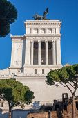 picture of emanuele  - The Monument Vittorio Emanuele in Rome Italy - JPG