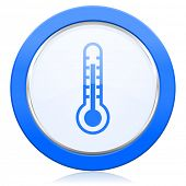 image of thermometer  - thermometer icon temperature sign  - JPG