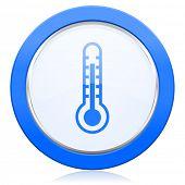 picture of temperature  - thermometer icon temperature sign  - JPG