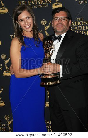 LOS ANGELES - APR 24: Outstanding Short Format Daytime at The 42nd Daytime Creative Arts Emmy Awards Gala at the Universal Hilton Hotel on April 24, 2015 in Los Angeles, California